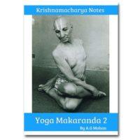 krishnamacharya yoga makaranda part 2