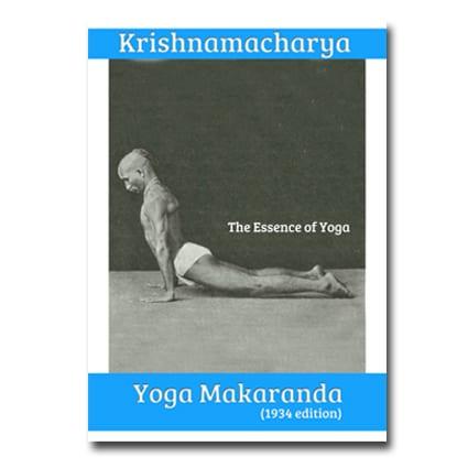 Yoga makaranda Krishnamacharya
