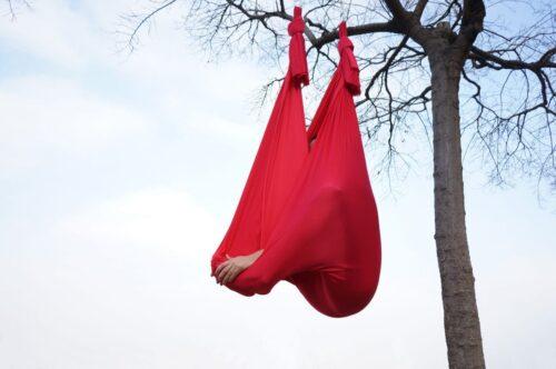 silks for aerial yoga swing