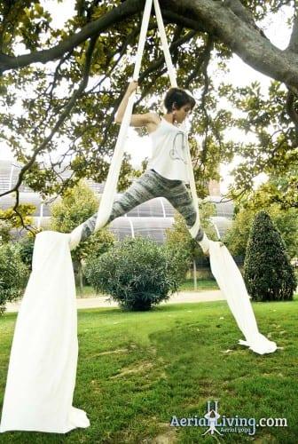 Résine naturelle antidérapante- démonstration dans les airs