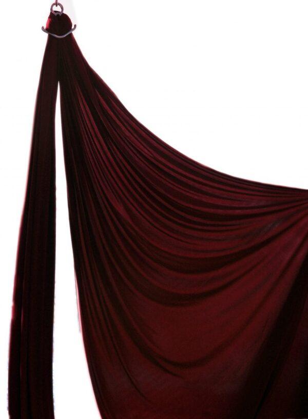 aerial silks bordeaux, tessuti aerei bordò, tela acrobatica burdeus,