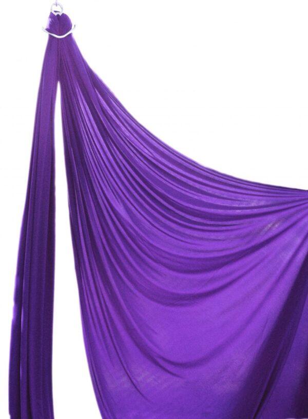purple aerial silk, compra tela acrobatica morada, compra tessuti aerei viola, tissu acrobatique aérien pour cirque et dance