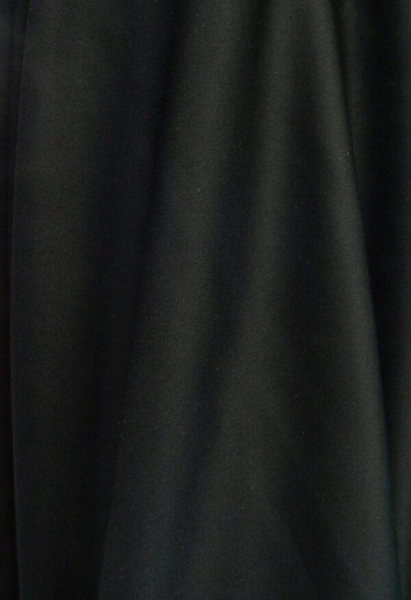 black aerial silk