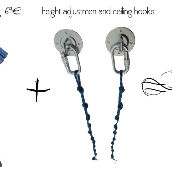 height adjustment for yoga swing