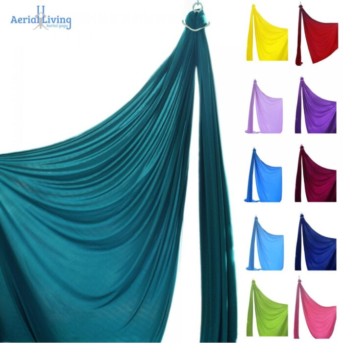 Tessuti aerei per acrobatica, danza aerea e circo, aerial silks, Telas acrobáticas
