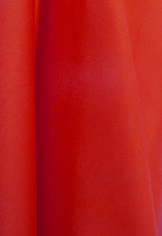 red aerial fabric