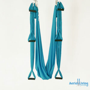 Columpio de yoga aéreo, antigravity swing with stirrups