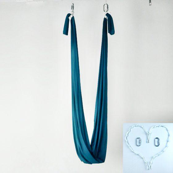 blue petroleum yoga swing