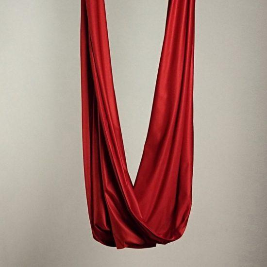 Aerial silks antigravity to make yoga hammocks and aerial sling