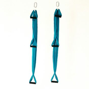 stirrups for aerial yoga hammock