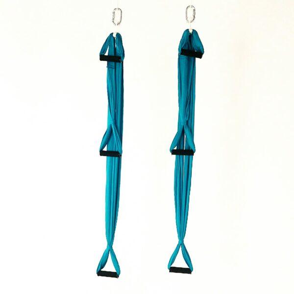 stirrups for aerial yoga hammock