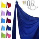 aerial silk kit profesional blue