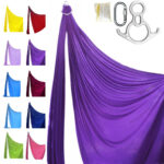aerial silk purple professional kit