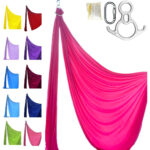 kit aerial silk pro pink