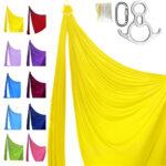 kit pro telas acrobaticas amarillo
