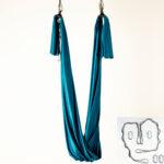 aerial yoga hammock petroleum blue