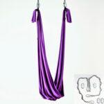 yoga swing purple with 2 daisy y 4 mosquetones