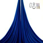 blue aerial silk kit