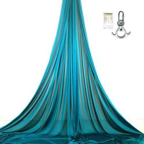 kit aerial silks petroleum blue