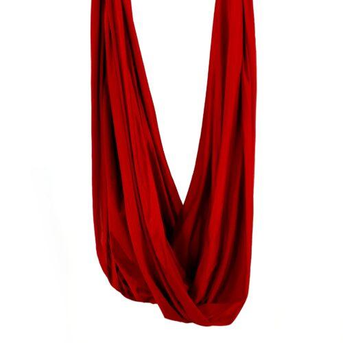 tessuto per amaca di yoga aereo rossi, red fabric for yoga hammocks