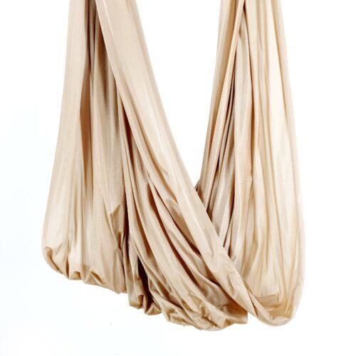 fabric for yoga swings. tessuti per amaca yoga aereo bej