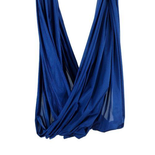 blue fabric for aerial yoga hammocks