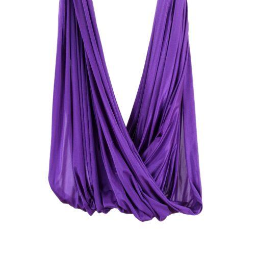 violet fabric for yoga hammocks, Telas para columpios de yoga aéreo