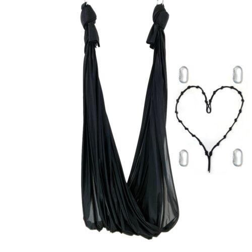 aerial yoga swing black