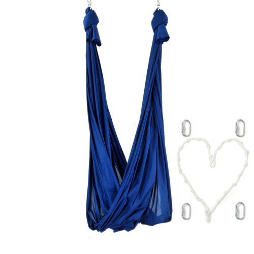 columpio yoga azul
