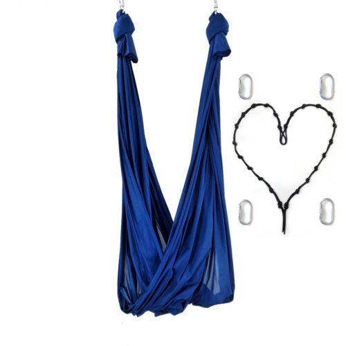 columpio antigravity azul