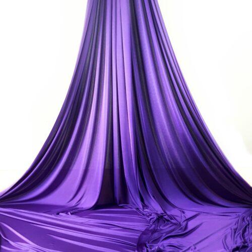 telas aéreas morado, purple aerial silks, tessuti aerei viola