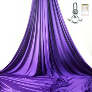 purple kit aerial silks for performances