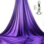 purple aerial silks for shows