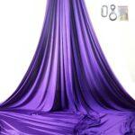on stage kit purple aerial silks