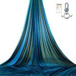 blue kit aerial silks for shows