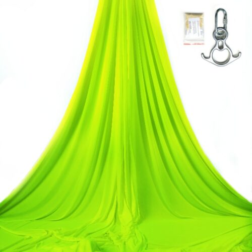 fluo aerial silks and accessorise for shows